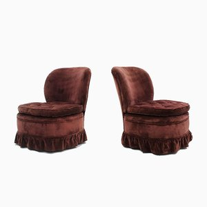 Armchairs by Melchiorre Bega, 1940s, Set of 2