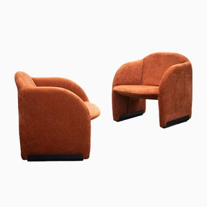Ben Armchairs by Pierre Paulin for Artifort, 1970s, Set of 2