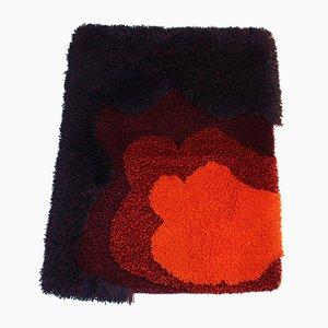 Vintage Wandteppich aus Wolle