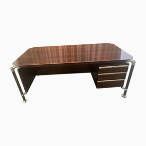Rosewood Desk by Ico Luisa Parisi for M.I.M. Roma, 1960s