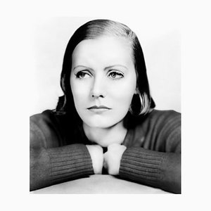 Garbo as Anna Christie Archival Pigment Print Framed in Black by Everett Collection
