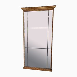 Large Gilded Wood Mirror
