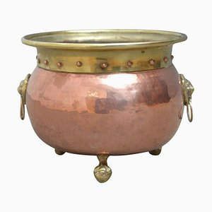 Edwardian Copper Planter
