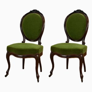 Antique Dining Chairs, Set of 2
