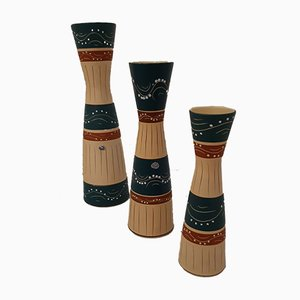Keramik Vasen von Marzi und Remy, 1960er, 3er Set
