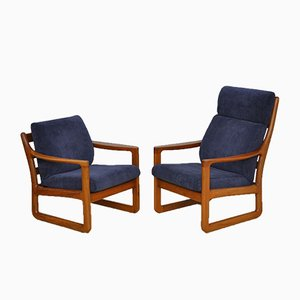 Mid-Century Armchairs by Johannes Andersen for CFC Silkeborg, 1960s, Set of 2