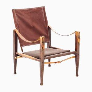 Chaise Pliante Safari par Kaare Klint pour Rud. Rasmussen, 1960s