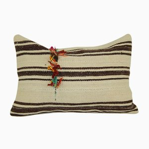 Minimalist Style Hemp Cushion Cover with Original Details