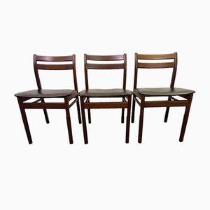Mahogany Dining Chairs, 1960s, Set of 6