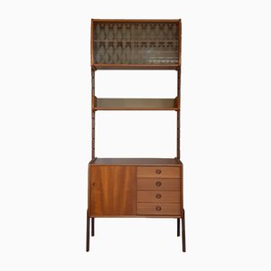 Mid-Century Norwegian Teak Ergo Wall Unit by John Texman for Blindheim Møbelfabrikk, 1960s
