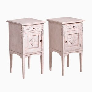 19th Century Swedish Nightstands, Set of 2