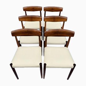 Danish Rosewood Dining Chairs by Knud Færch for Slagelse Møbelfabrik, 1950s, Set of 6