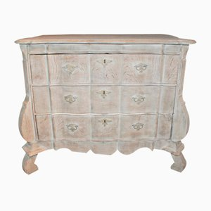 Bleached Oak Commode, 1790s