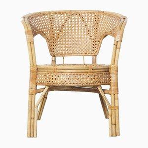 Vintage Rattan Chair, 1980s