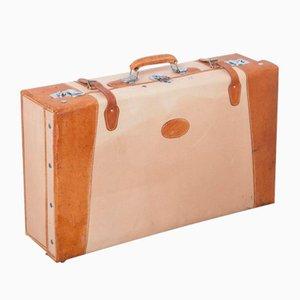 Vintage Koffer im englischen Stil von Golden Leaf, 1950er