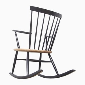 Spindle Back Rocking Chair, 1950s