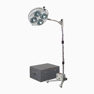 Sofia Varimex L-10 Mobile Field Operating Lamp from FAMED-1, 1950s