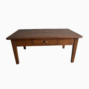 Antique Coffee Table with Drawer