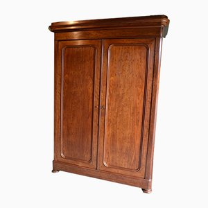 Large Antique Mahogany Wardrobe