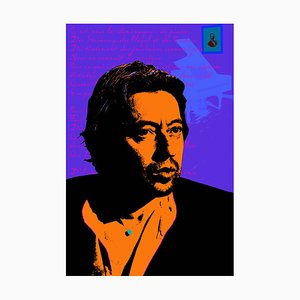Gainsbourg by Francis Apestéguy, 2017