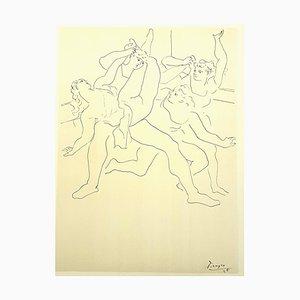 Vier Balletttänzer Lithographie nach Pablo Picasso, 1946