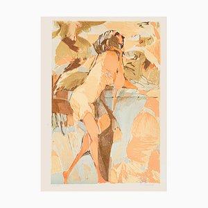 Nude - Original Lithograph by Ugo Rambaldi - 1970s 1970s