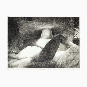 Lampenschirm - Original Radierung - 20th Century 20th Century