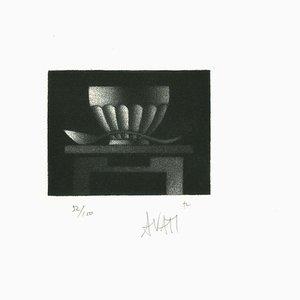 Still life - Original Etching on Paper by Mario Avati - 1960s 1960s