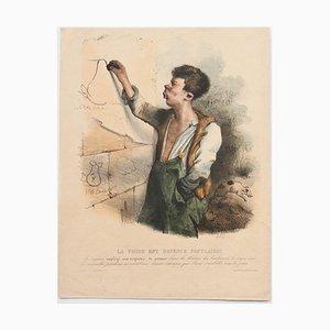 Pear Has Popular - Original Lithographie von C.-J. Traviès - 1830er 1830er