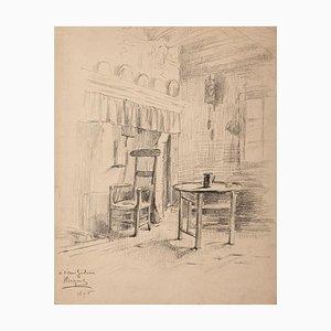 Household - Original Pen on Paper - 1896 1896