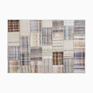 Mid-Century Patchwork Carpet