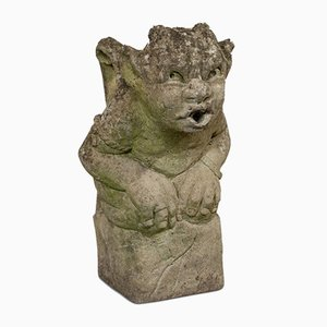 Vintage English Gargoyle