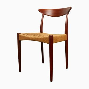 Vintage Danish Teak Chair by Arne Hovmand-Olsen for Mogens Kold, 1950s