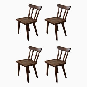 Chaises de Salon en Pin de Karl Andersson & Söner, Suède, 1960s, Set de 4