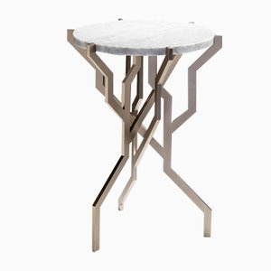 Small White Plant Table by Kranen/Gille