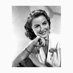 Photographic Portrait Ingrid Bergman Archival Pigment Print Framed in White by Everett Collection