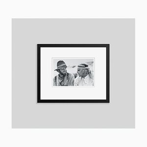 Nicholson and Brando Silver Gelatin Resin Print Framed in Black by Bettmann