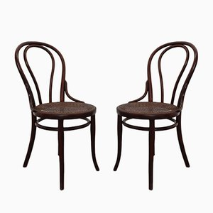 Vintage Dining Chairs from Thonet, Set of 2
