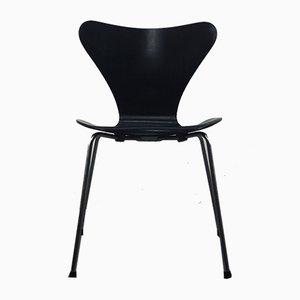 Modell 3107 Esszimmerstuhl von Arne Jacobsen für Fritz Hansen, 1960er