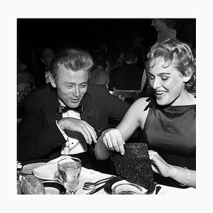 James Dean & Ursula Andress Silver Gelatin Resin Print Framed in Black by Michael Ochs Archive