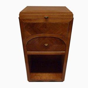 Vintage Art Deco Walnut Cupboard