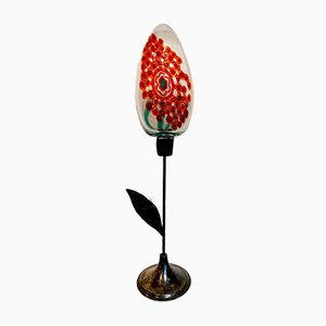 Flower Sculpture by Anzolo Fuga Aureliano Toso & Gianni Zennaro, 1960s
