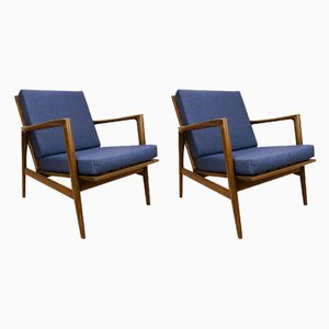 Model 300-139 Armchairs from Swarzędzka Factory, 1960s, Set of 2