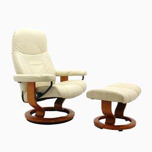 Norwegian Model Consul Stressless Armchair from Ekornes, 2000s