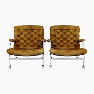 Model 73 Karin Chairs from Dux, 1970s, Set of 2