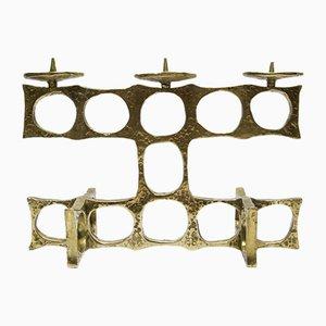 Brass & Bronze Candleholder, 1960s