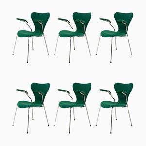 Set de Salon Modèle 3207 par Arne Jacobsen pour Fritz Hansen, 2002, Set de 6