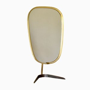 Mid-Century German Table Mirror from Vereinigte Werkstätten Collection, 1950s