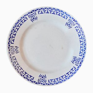 Passy Plates from longwy, 1940s, Set of 6