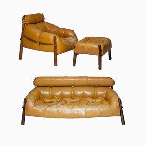 Sofas von Percival Lafer für MP Lafer, 1960er, 3er Set